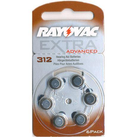 Батарейки 312 для слухового аппарата