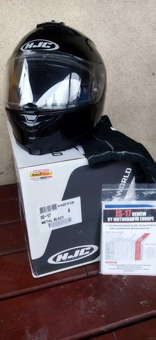 Kask motocyklowy HJC IS-17 METAL BLACK rozm. S Krzemieniewo - image 1