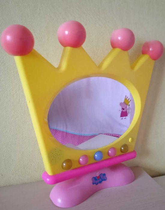 Зеркало большое безопасное Свинка Пеппа музыкальное с подсветкой Харьков - изображение 1