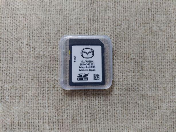 Mazda Connect 2 cała Europa BDMC 66 EZ1 karta SD