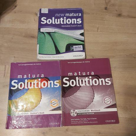 New Matura Solutions intermediate student's book