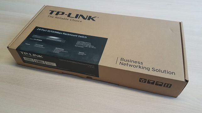 TL-SF1024  Przełącznik do montażu w szafie, 24 portów 10/100Mb/s