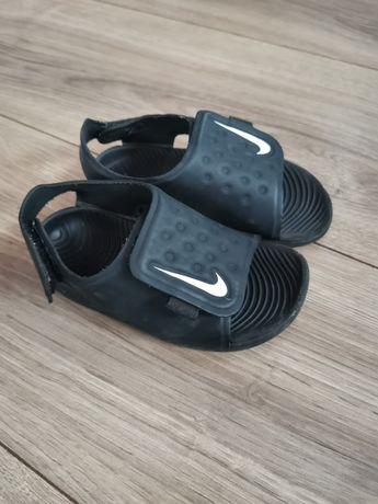 Sandałki nike czarne