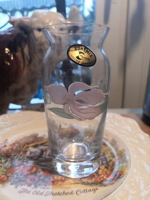 Kryształowy wazonik Bohemia Suchacz - image 1