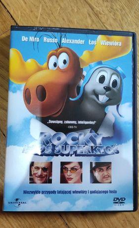 Rocky i Łoś Superktoś film DVD