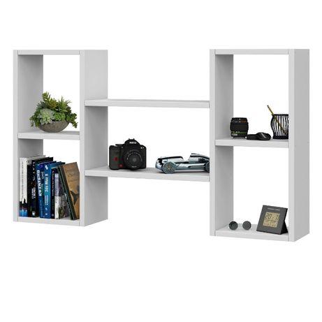 Nowoczesna półka wisząca, ścienna na książki 102 cm