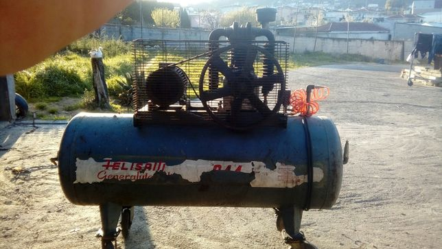 Compressor 500L Felisatti Trifasico económico