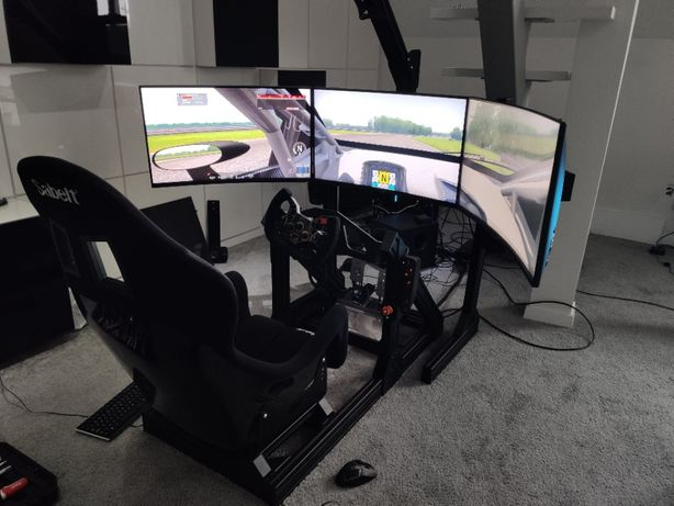 Stelaż SimRig do Logitech Thrustmaster Fanatec OSW Simucube Accuforce