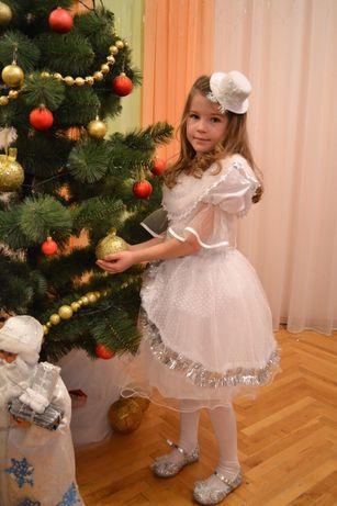 Карнавальный костюм Снежинка, снежная королева