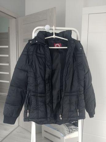 Krótka kurtka zimowa czarna Sublevel rozmiar M