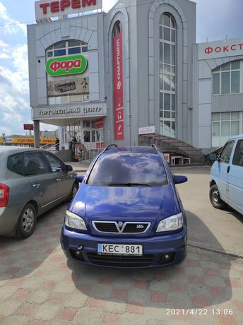 Opel zafira 2.2 dti OPC 2005 рік