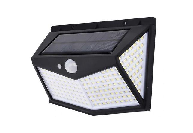 Lampa Solarna Wodoszczelna z Czujnikiem Zmierzchu i Ruchu