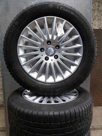 "Koła aluminiowe 16"" Mercedes Audi Vw Seat Skoda 5x112 zimowe"