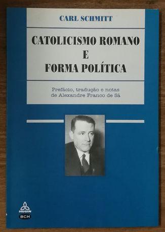 catolicismo romano e forma política, carl schmitt, hugin