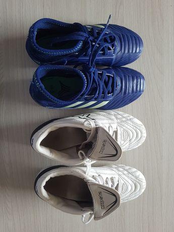 Buty chłopięce Adidas i Kipsta r. 31