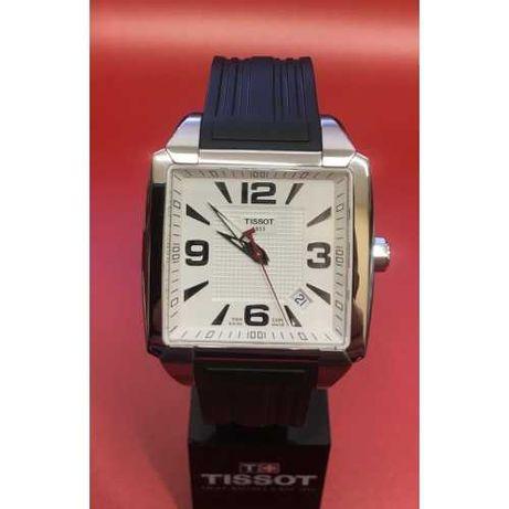 НОВЫЕ Швейцарские наручные часы TISSOT Quadrato кварц тиссо seiko oris
