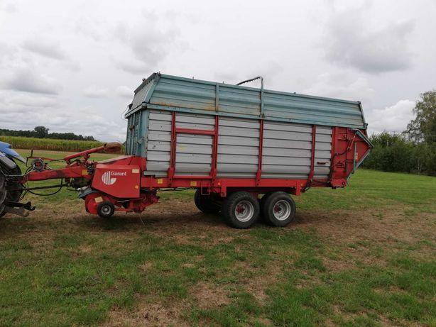 Przyczepa samozbierająca mengele garant 538 objętościowa do kukurydzy