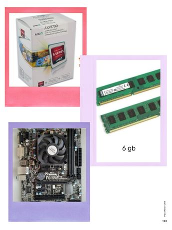 Топ продам топовий комплект на fm2 сокете :a10 5700,6gb ОЗУ,материнка