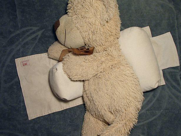 wałek poduszka do bezpiecznego spania stabilizacyjna dla niemowlaka