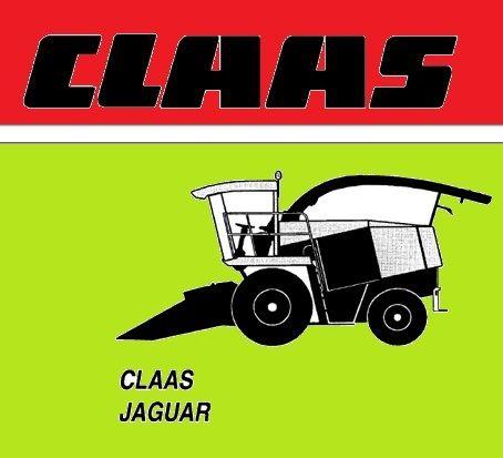 CLAAS JAGUAR 830-880 instrukcja napraw J. POLSKI!