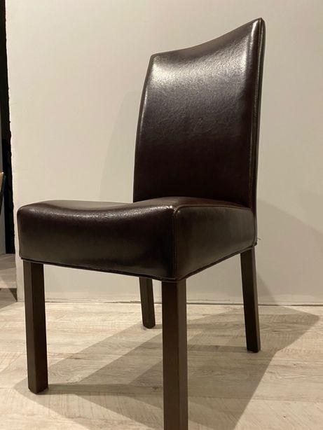Krzesła Skórzane Ręczna Robota