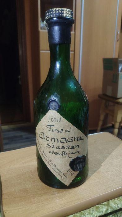Оригинальная бутылка антиквариат Франция Белая Церковь - изображение 1