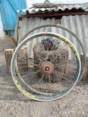 Колесо от горного велосипеда