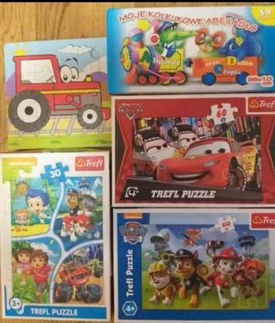 Puzzle dla dzieci 30-60 el.