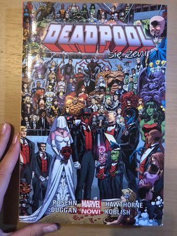 Komiks Deadpool nowy