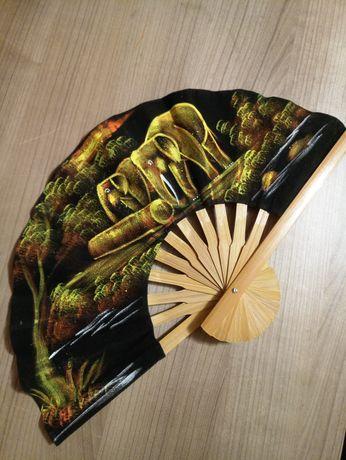Веер Тайланд декоративный сувенир настенный