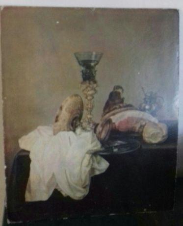Картина натюрморт(репродукцыя).