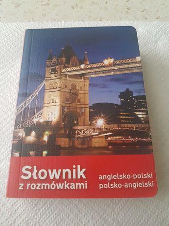 Słownik z rozmówkami angielsko-polski polsko-angielski