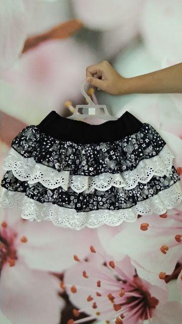 Очень красивая юбочка для девочки