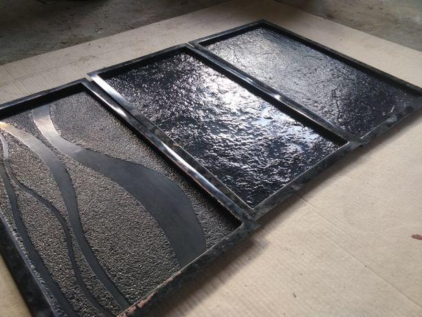Форми абс пластик для облицювальної плитки 3 шт (різні) 30см *60 см