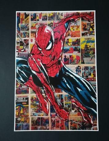 Posters, Spiderman, Goku, Hulk, C3PO, etc.