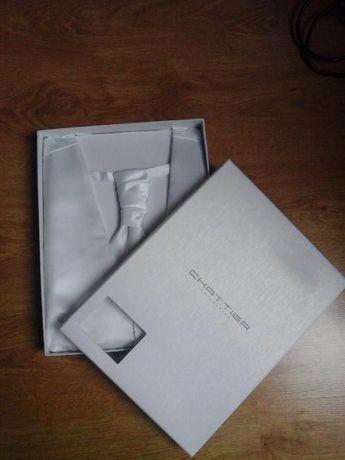 CHATTIER kamizelka+krawat+butonierka! Ślub!Nowa metka biała! rozmiar L