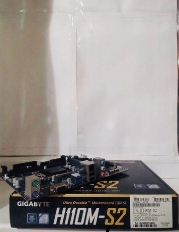 Продам новый топовый комплект по сокет 1151 core i5 6402p и hm-110-s2
