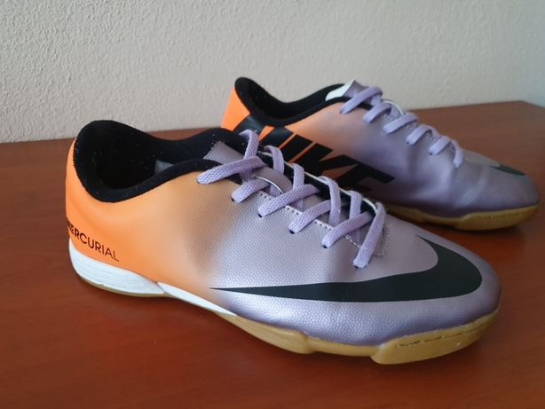 Футзалки Nike Mercurial Vortex 38,5 р. сороконожки 24.5 см. бампы