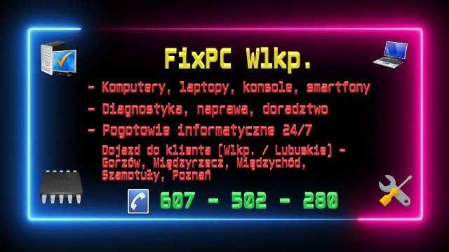 KOMPUTERY-naprawa, rozbudowa, usterki, sieci, internet, doradztwo