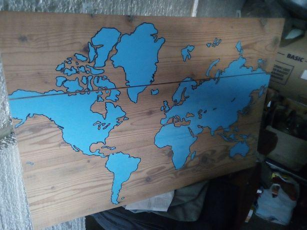 Карта на досках (автор не известен)