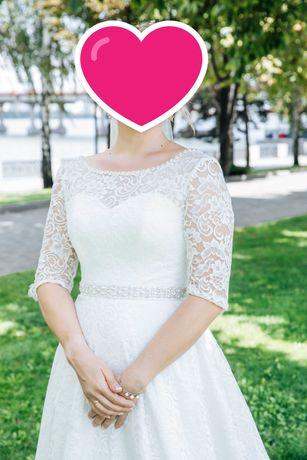 Платье свадебное Айвори р 48-50 срочно и дешево
