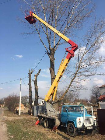 Послуги автовишки АГП-18. Бровари Київська обл.