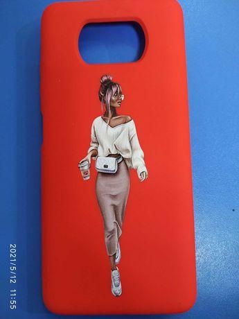 Чехол-бампер Xiaomi Poco X 3
