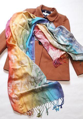 Палантин шарф 100% кашемир Pashmina