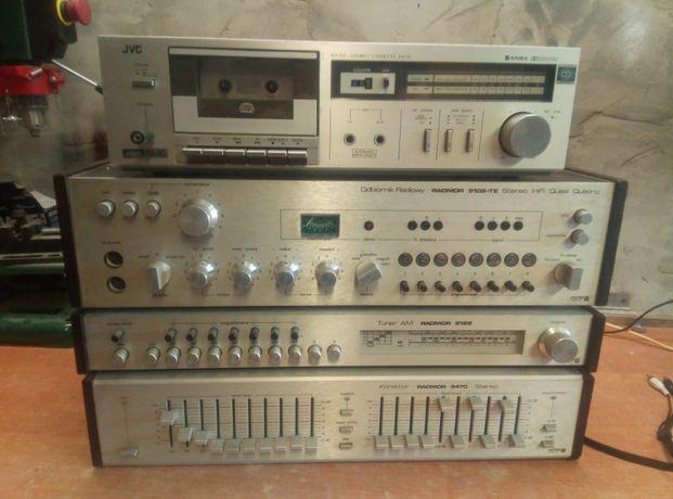 Radmor 5102, 5122, 5470, JVC KD-D2E