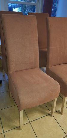 4 krzesła tapicerowane