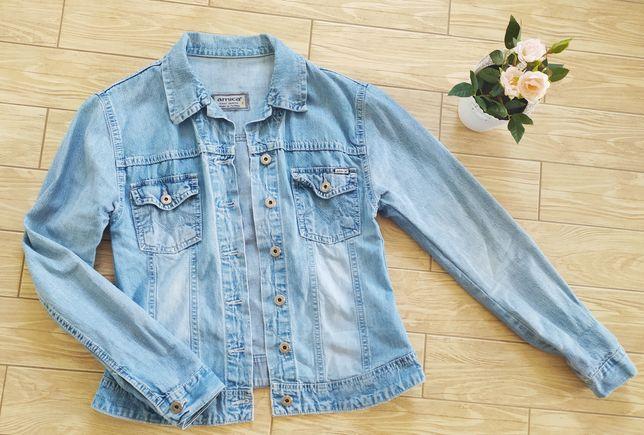 Bluza jeansowa katana latania dżinsowa L
