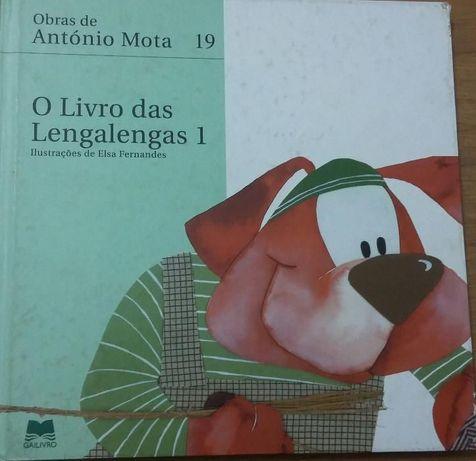 O livro das lengalengas 1 de António Mota