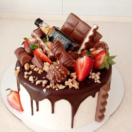 Торти на замовлення/торт/десерт/меренговий рулет