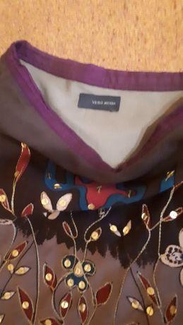 Piękna Etno midi spódnica rozm. S